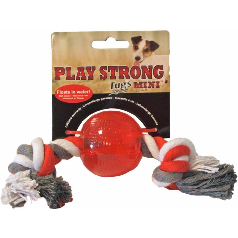 Sterk Hondenspeelgoed Bal met Flos van Play Strong
