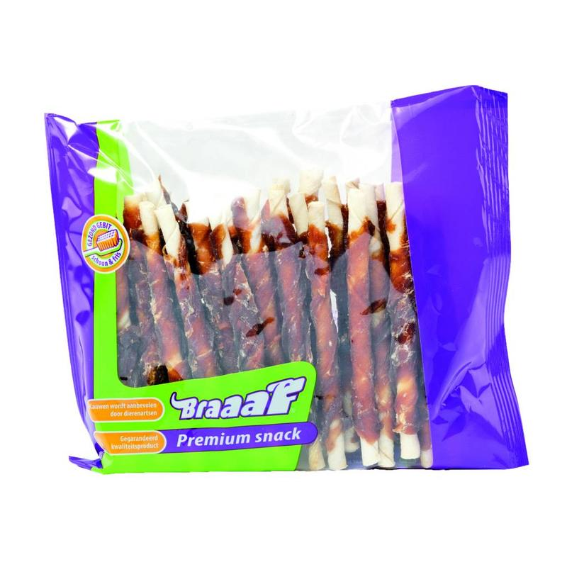 Braaaf Roll Sticks Eend 300gr.