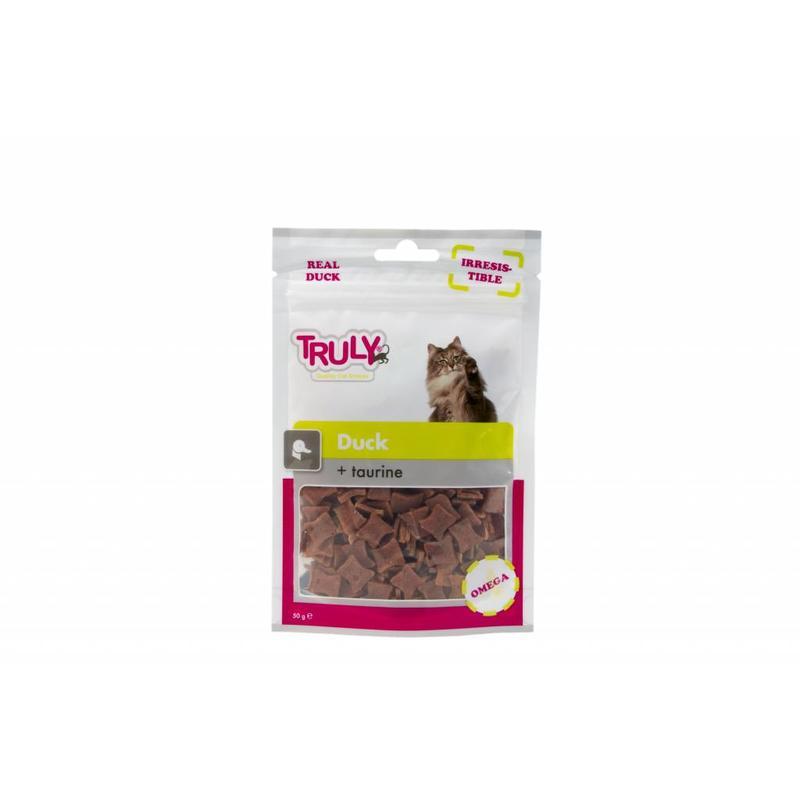 Zachte snack voor iedere kat met Eendenvlees en Taurine