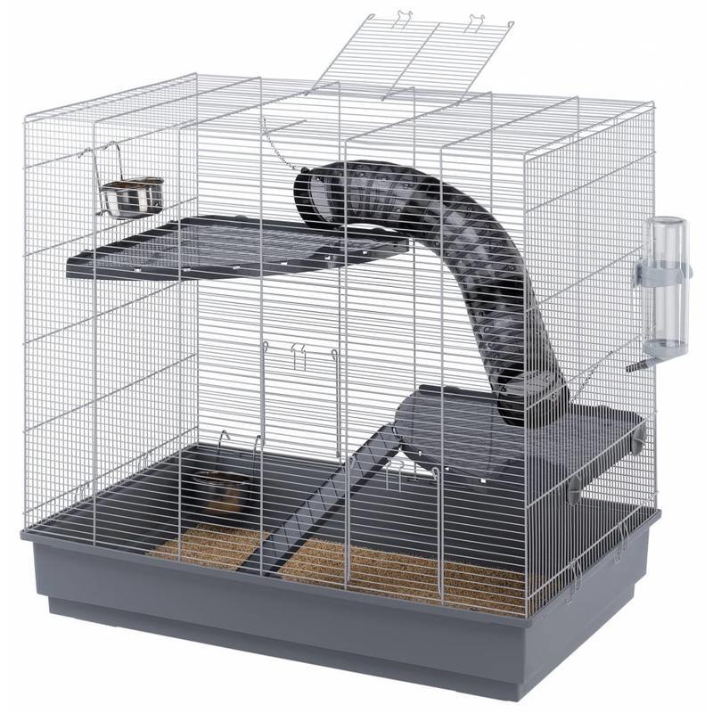 Rattenverblijf voor ratten die de ruimte willen