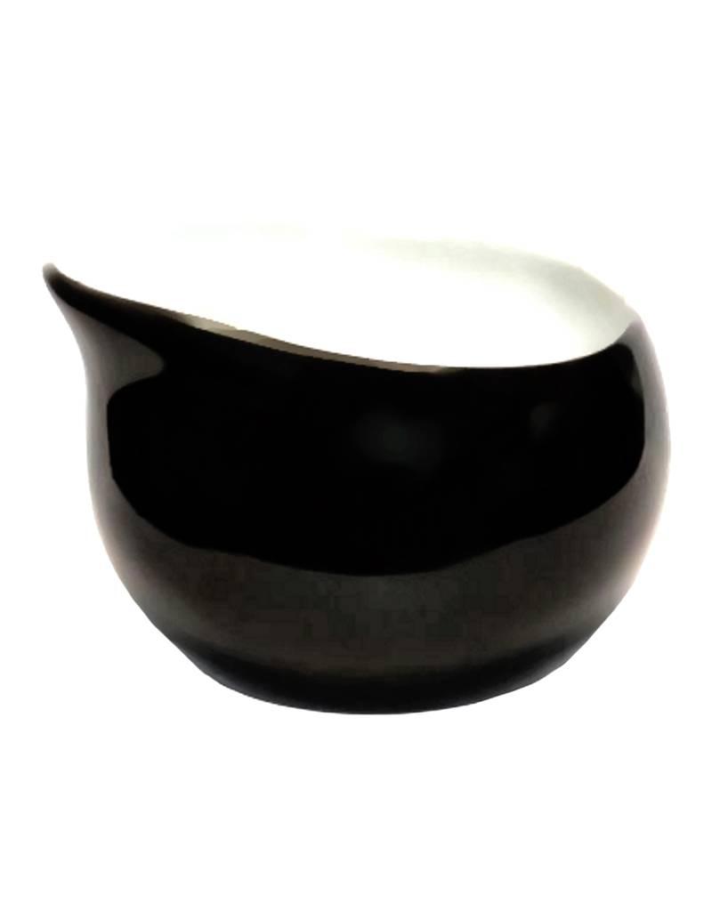Colani Porzellanserie Colani Zuckerschale I schwarz I Zuckergefäß I Porzellan