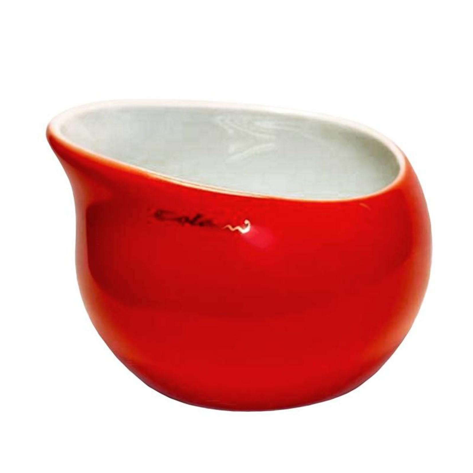 Colani Porzellanserie Colani Zuckerschale | rot | Design - Zuckergefäß | Porzellan