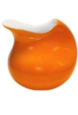 Colani Porzellanserie Colani Sahnegießer I orange I Milchkännchen I Porzellan