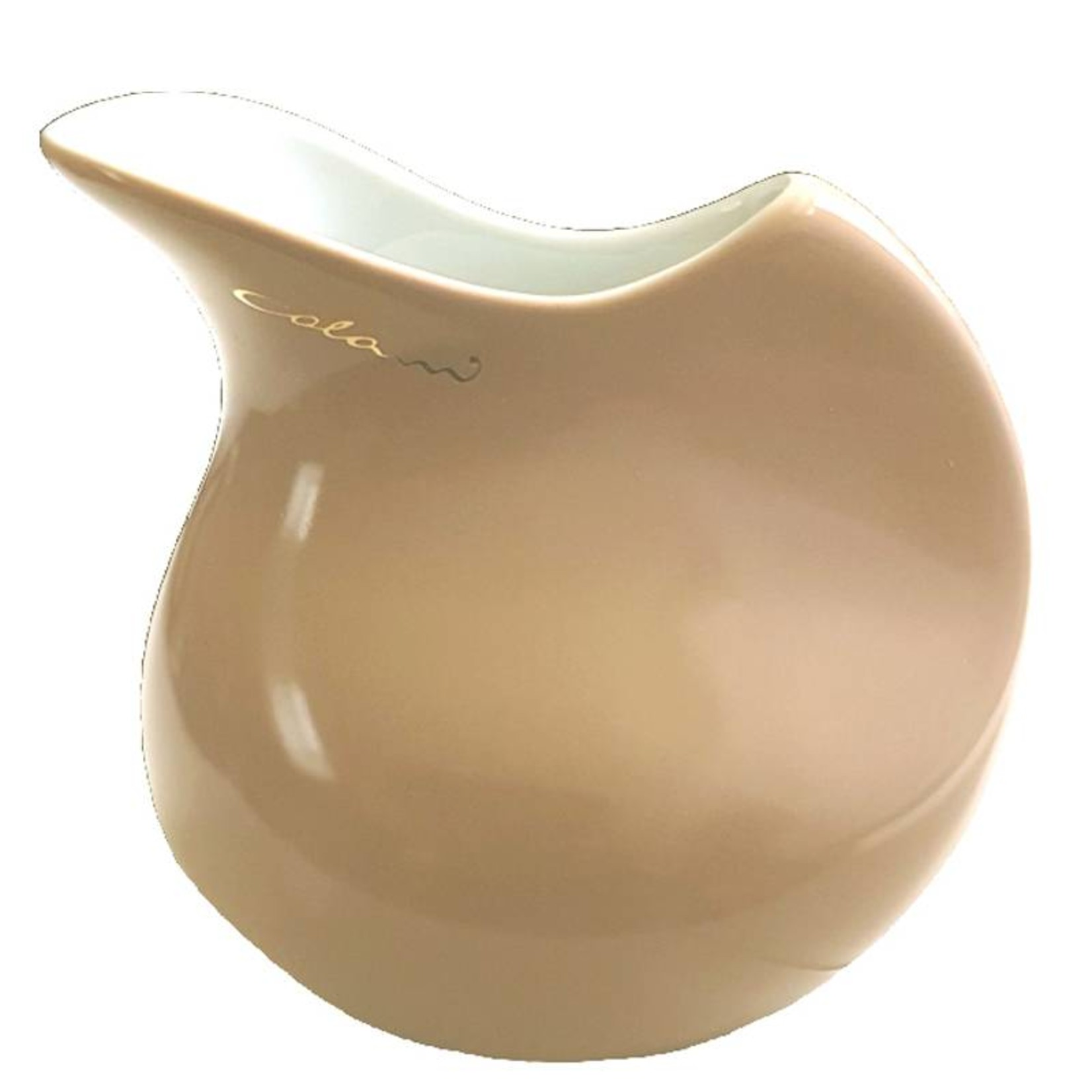 Colani Porzellanserie Colani Sahnegießer I sand I Milchkännchen I Porzellan