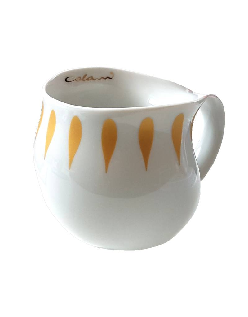 Colani Porzellanserie Colani Kaffeebecher gold I Design 5 I Porzellan