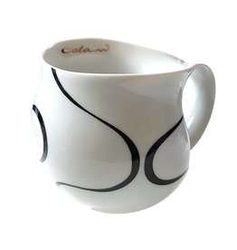 Colani Porzellanserie Colani Kaffeebecher, gold & black 2