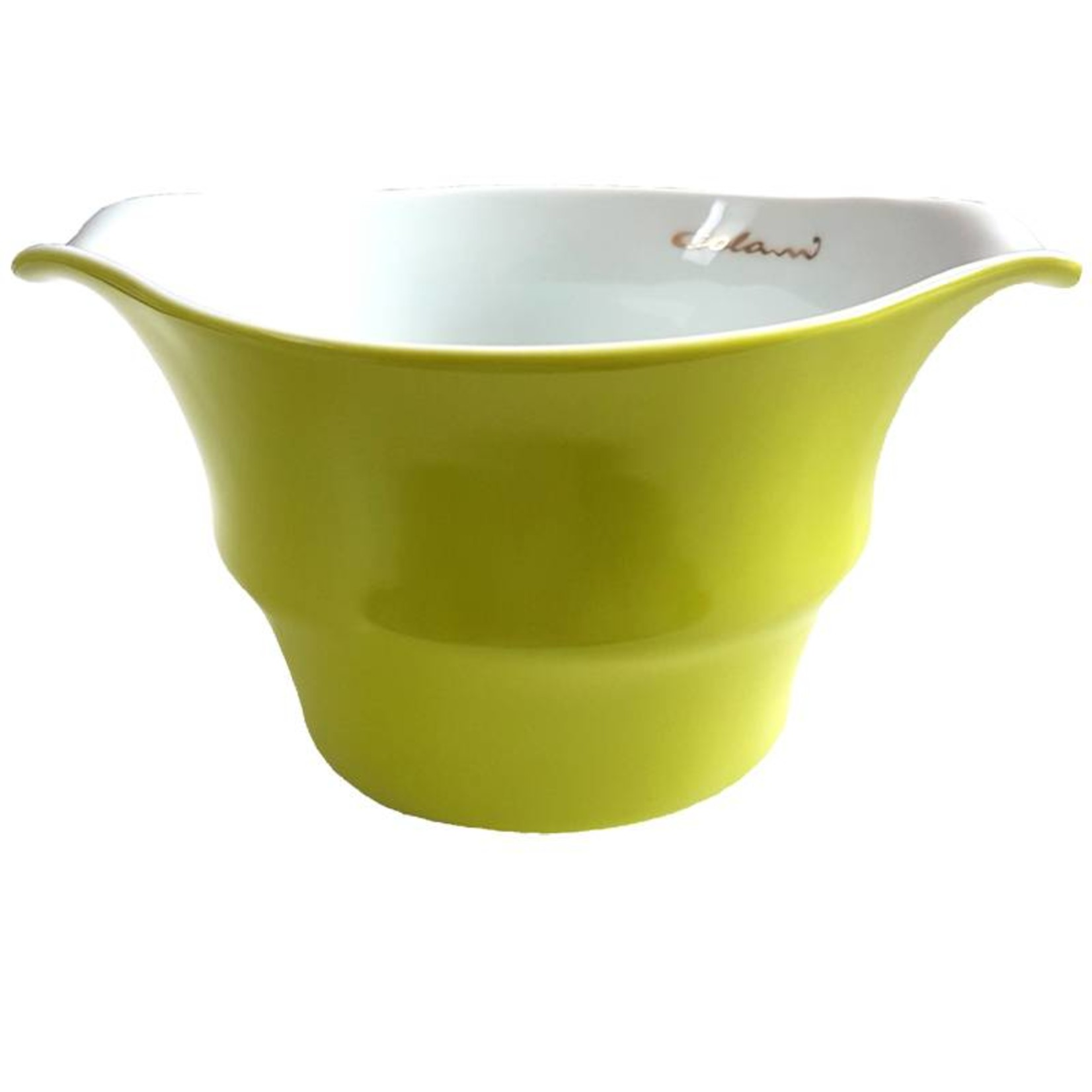 Colani Porzellanserie Colani Müslischale I grün I Schüssel I Porzellan