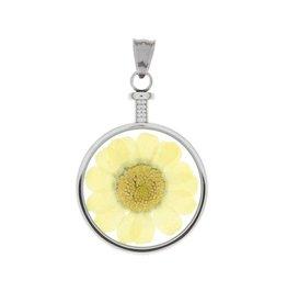 blumenkind® Anhänger stahl, Blume gelb