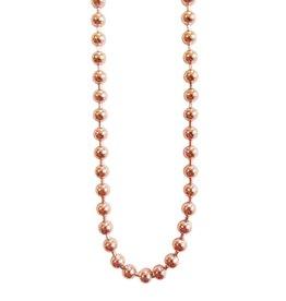 blumenkind® Kugelkette rosé-gold, 4 Längen