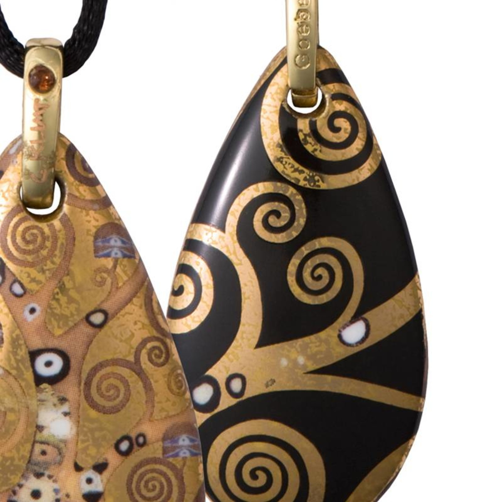 Goebel Porzellanmanufaktur Kette Lebensbaum I Gustav Klimt I Goebel Porzellan