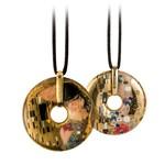 Goebel Porzellanmanufaktur Kette, Klimt - Der Kuss
