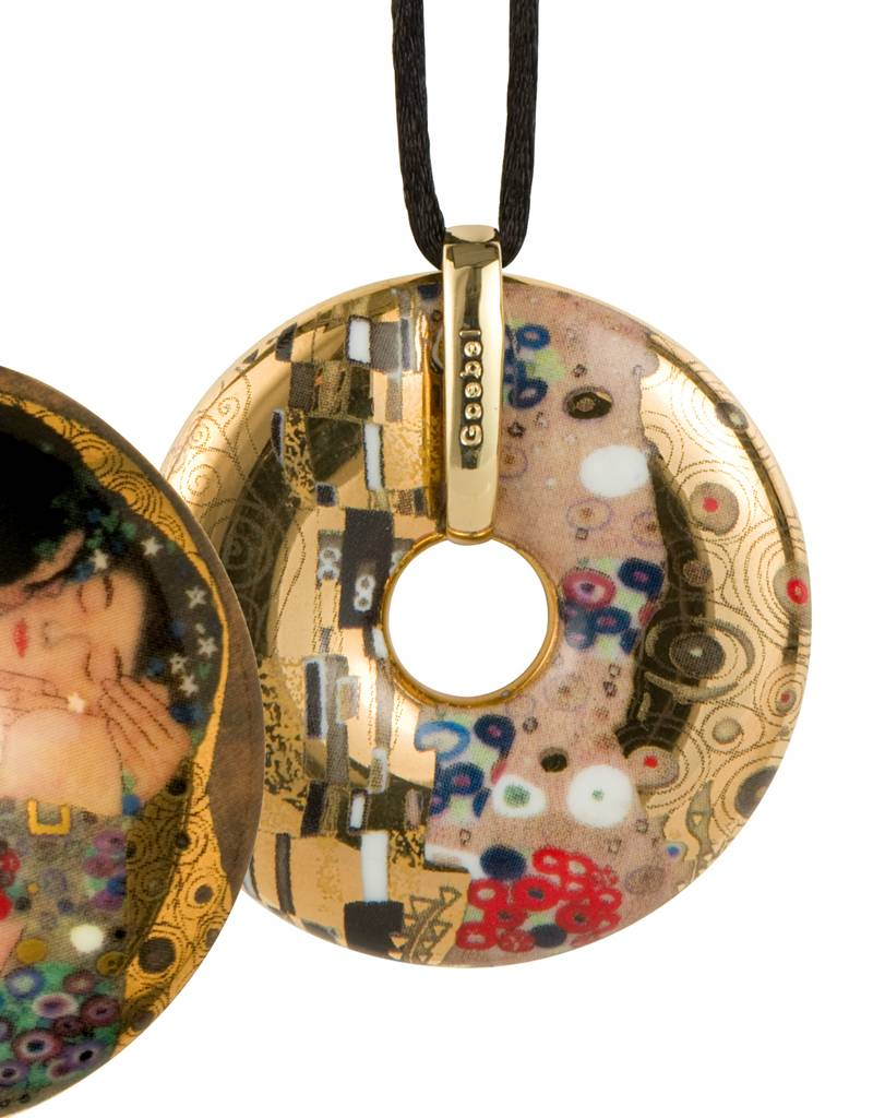 Goebel Porzellanmanufaktur Kette Der Kuss I Gustav Klimt I Goebel Porzellan