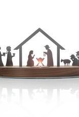 unoferrum - SILHOUETTE Erweiterungsset SILHOUETTE I Weihnachtskrippe I unoferrum