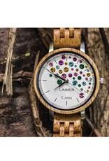 Laimer Holzuhren Laimer Holzuhr Capri 36 mm I Laimer Uhr aus Mangoholz