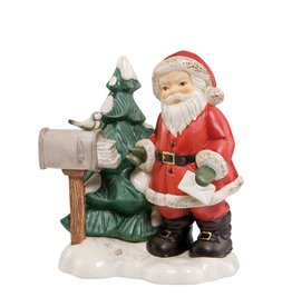 """Goebel Porzellanmanufaktur Weihnachtsmann """"Post von weit her"""""""