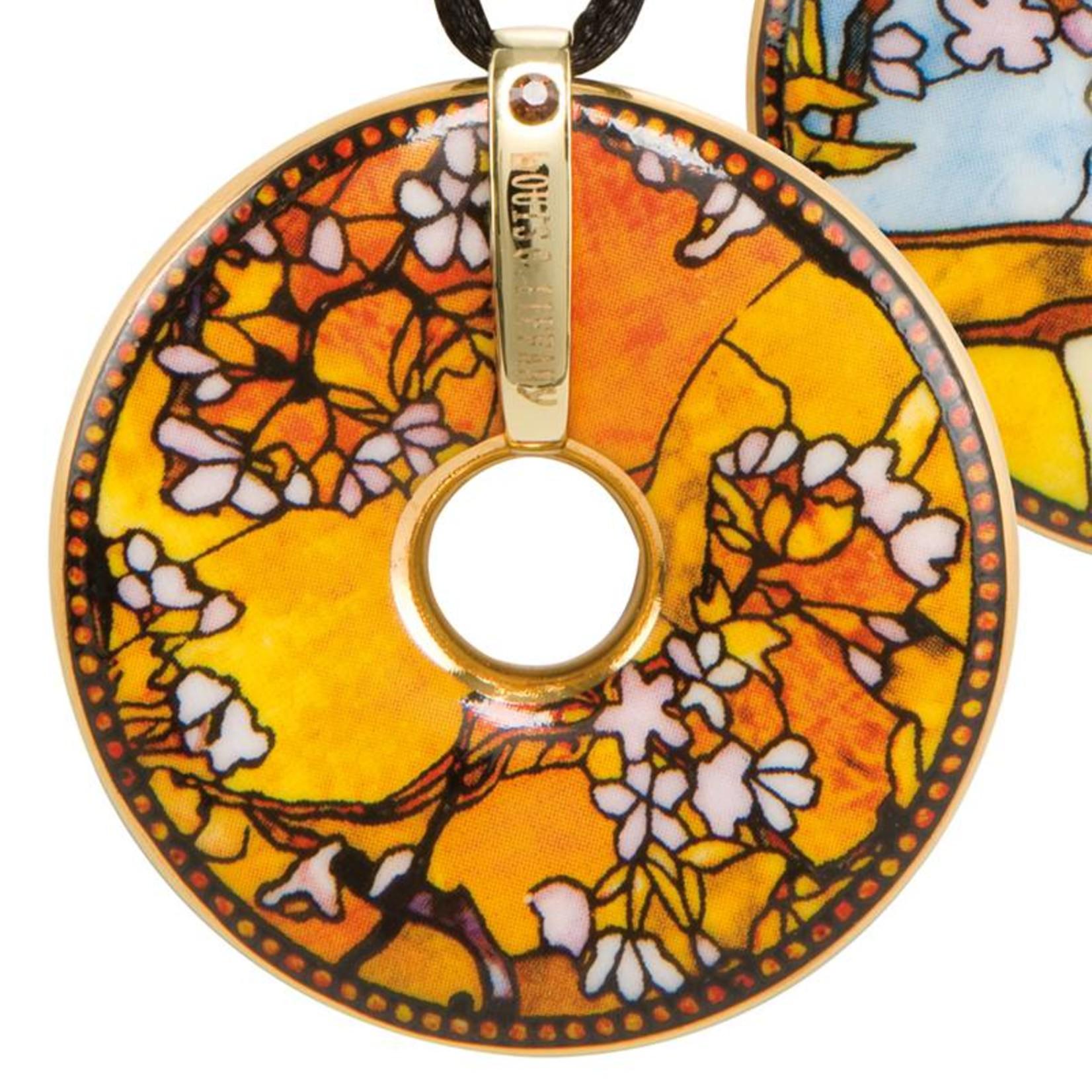 Goebel Porzellanmanufaktur Kette Pfau I Goebel Porzellan I Louis Comfort Tiffany - Copy