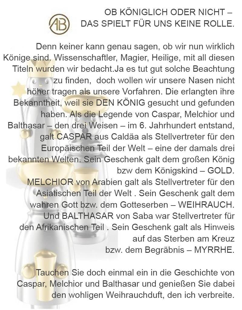 """Adamas Brass Räuchermann """"Caspar"""" I Edelstahl I Erzgebirge I 3 Weisen"""