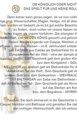 Adamas Brass Räuchermann Melchior I Edelstahl I Erzgebirge I 3 Weisen
