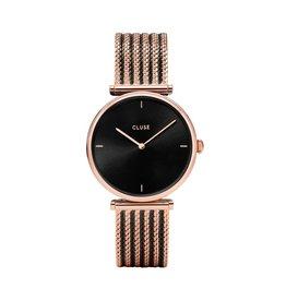 Cluse Cluse Uhr Triomphe  roségold-schwarz