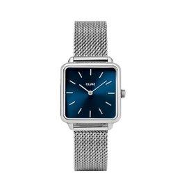 Cluse Cluse Uhr La Tétragone silber-blau