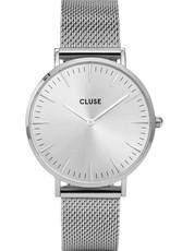Cluse Cluse Uhr La Bohème silber I Mesh silber