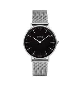 Cluse Cluse Uhr La Bohème silber-schwarz