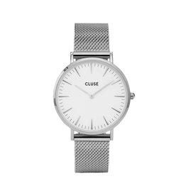 Cluse Cluse Uhr La Bohème silber-weiß
