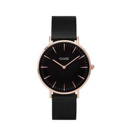 Cluse Cluse Uhr La Bohème schwarz-roségold