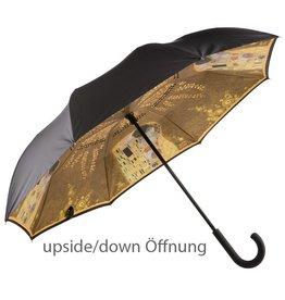 Goebel Porzellanmanufaktur Stockschirm Klimt - Der Kuss