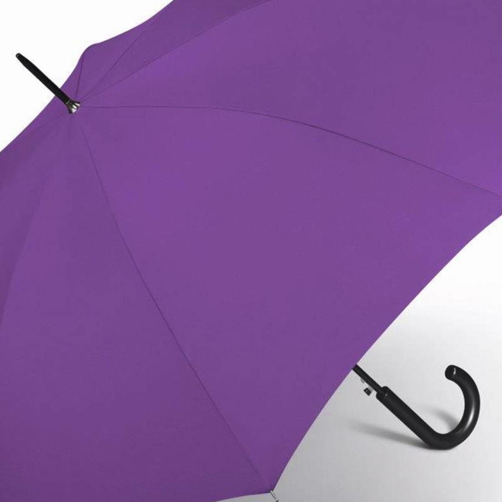 happy rain Stockschirm I lila I Automatik I happy rain Schirm