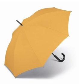 happy rain Stockschirm uni, gelb
