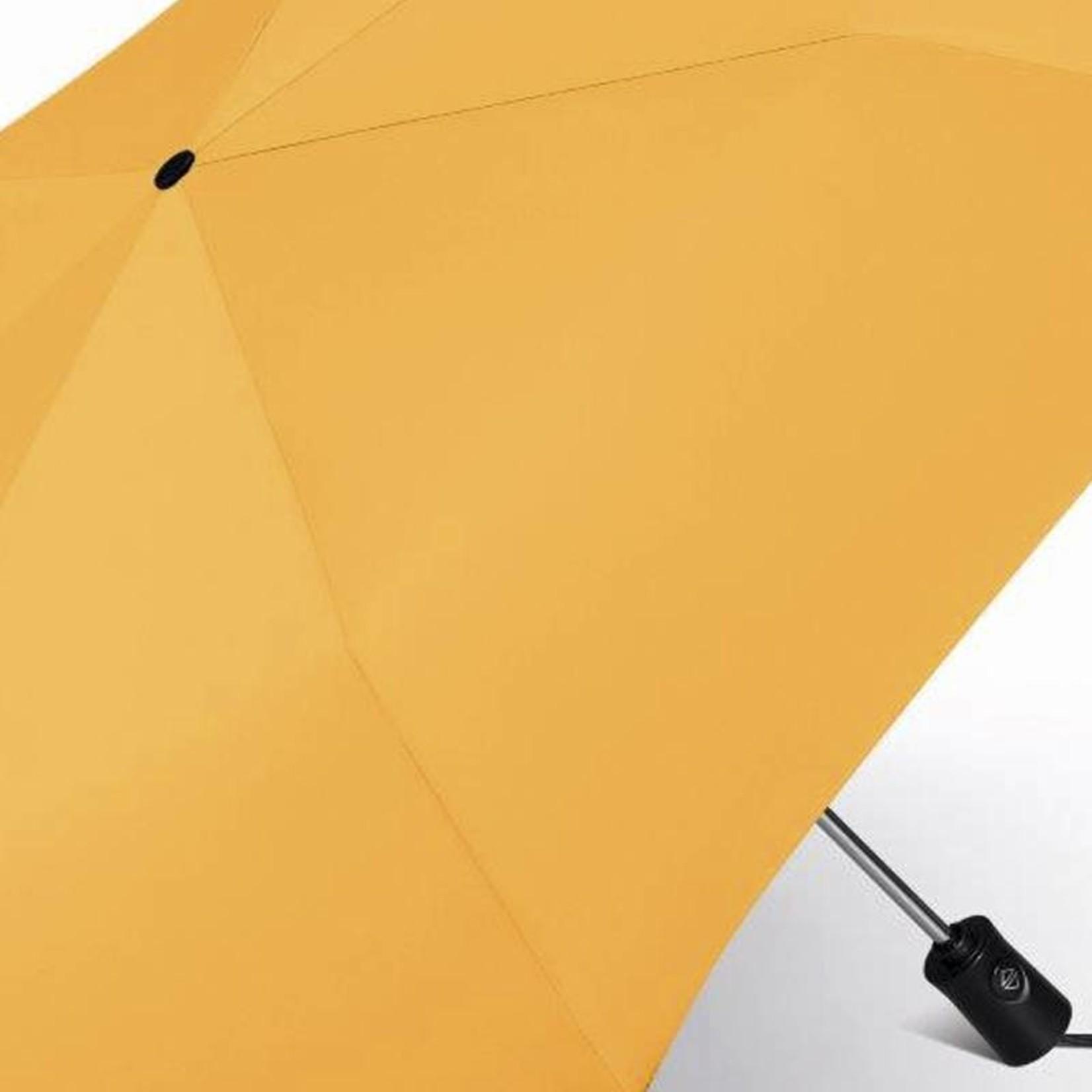 happy rain Taschenschirm I gelb I Auf + Zu Automatik I happy rain