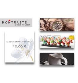 Geschenkgutschein 10,00 €