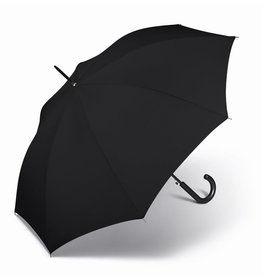 happy rain Stockschirm uni, schwarz
