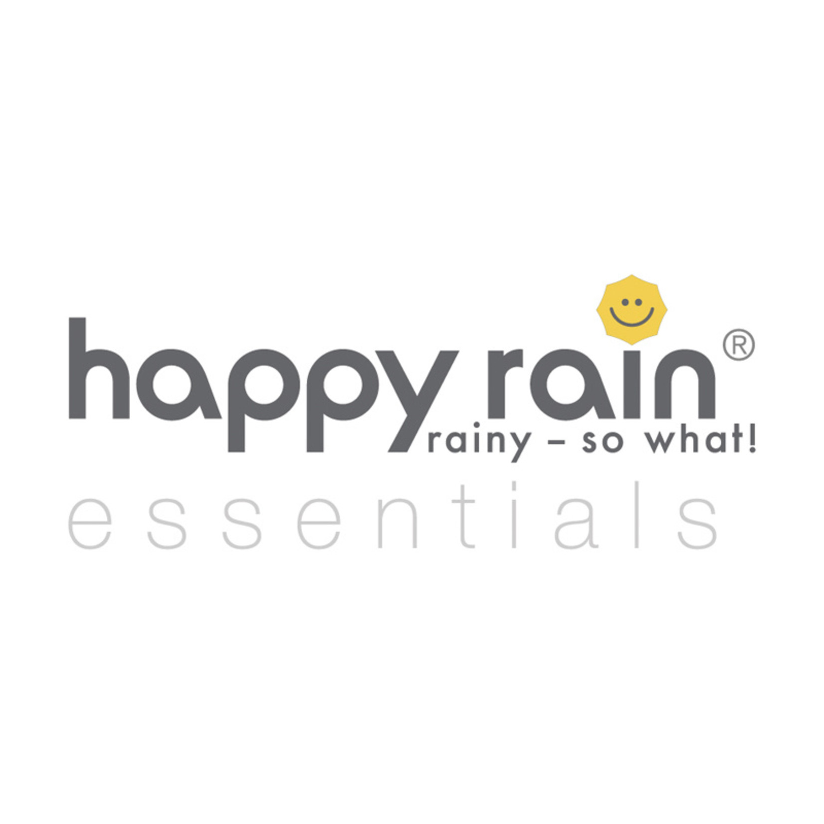 happy rain Stockschirm I schwarz I Automatik I happy rain Schirm