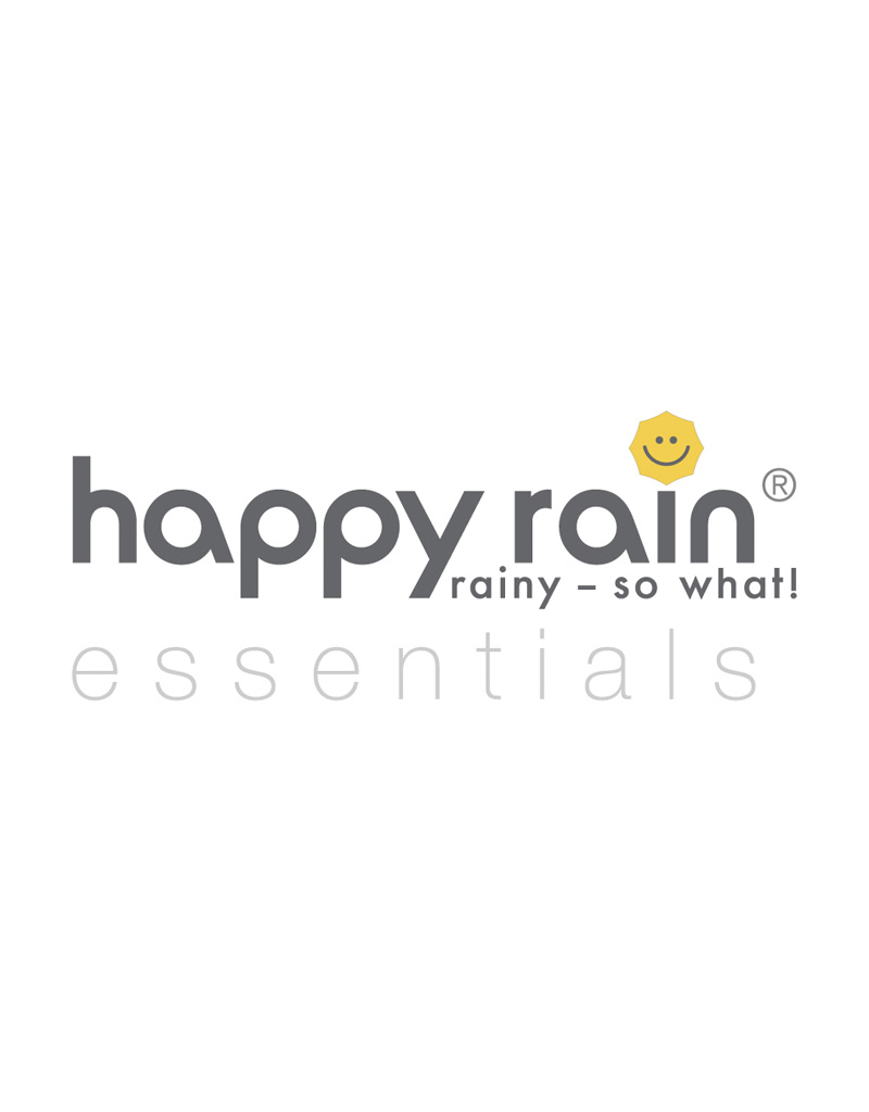 happy rain Stockschirm I schwarz I Automatik I happy rain Schirm