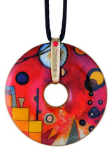 Goebel Porzellanmanufaktur Kette Schweres Rot I Goebel Porzellan I Wassily Kandinsky