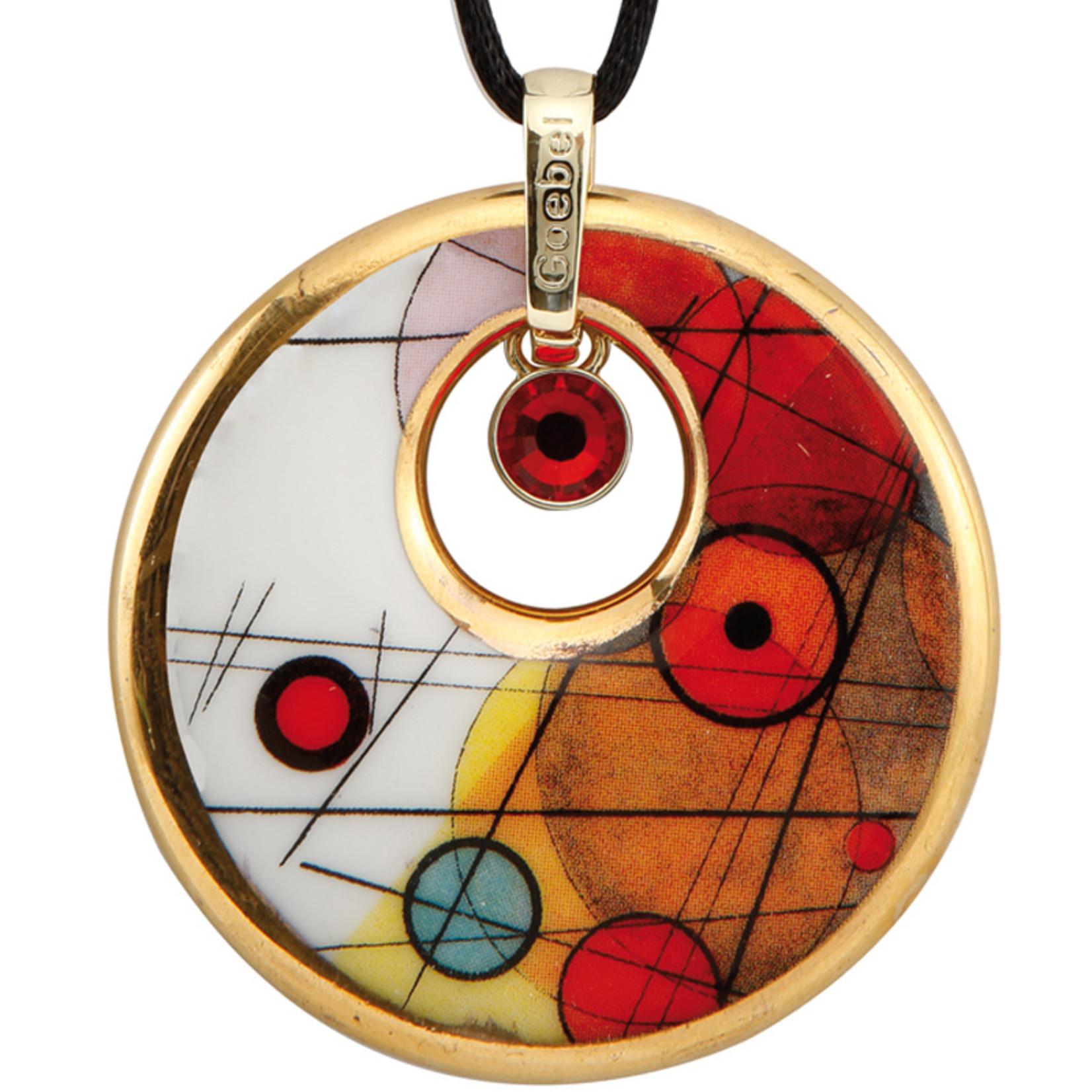 Goebel Porzellanmanufaktur Kette Kreise im Kreis I Goebel Porzellan I Wassily Kandinsky