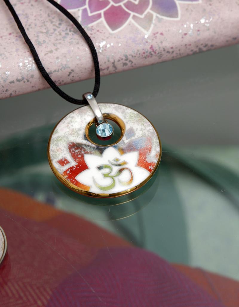 Goebel Porzellanmanufaktur Kette Lotusblüte Rosé I Goebel I Lotus - Morning Glory