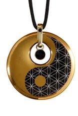 Goebel Porzellanmanufaktur Kette Ying Yang I Goebel I Lotus - Spirit of Harmony