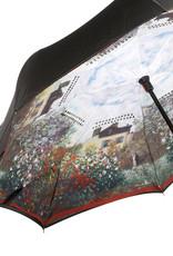 Goebel Porzellanmanufaktur Stockschirm I Monet - Das Künstlerhaus I umgekehrte Öffnung