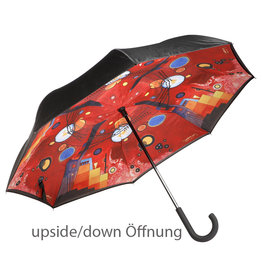 Goebel Porzellanmanufaktur Stockschirm Kandinsky -Schweres Rot