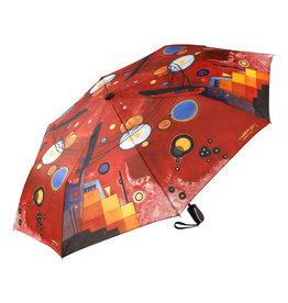Goebel Porzellanmanufaktur Taschenschirm Kandinsky - Schweres Rot