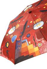 Goebel Porzellanmanufaktur Taschenschirm I Wassily Kandinsky I Schweres Rot I Automatik