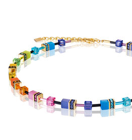 Coeur de Lion Collier 2838/10-1573, multicolor rainbow gold