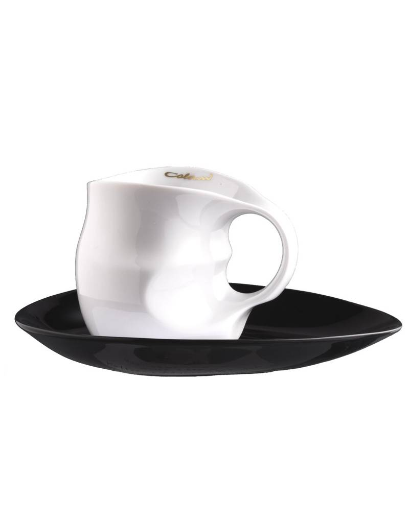 Colani Porzellanserie Colani Kaffee-/Cappuccinotasse 2- teilig in weiß