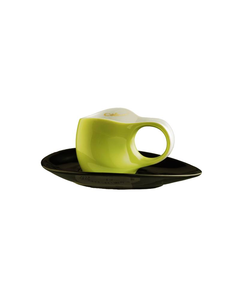Colani Porzellanserie Colani Espressotasse 2-teilig in Grün