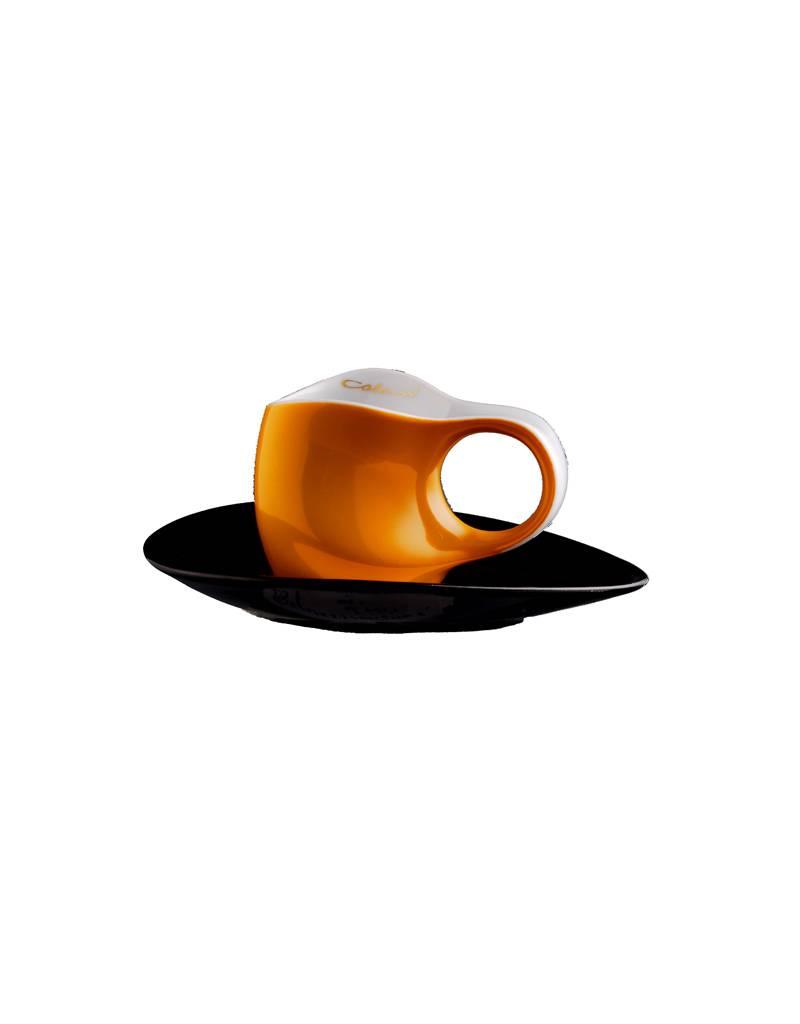Colani Porzellanserie Colani Espressotasse 2-teilig in Orange