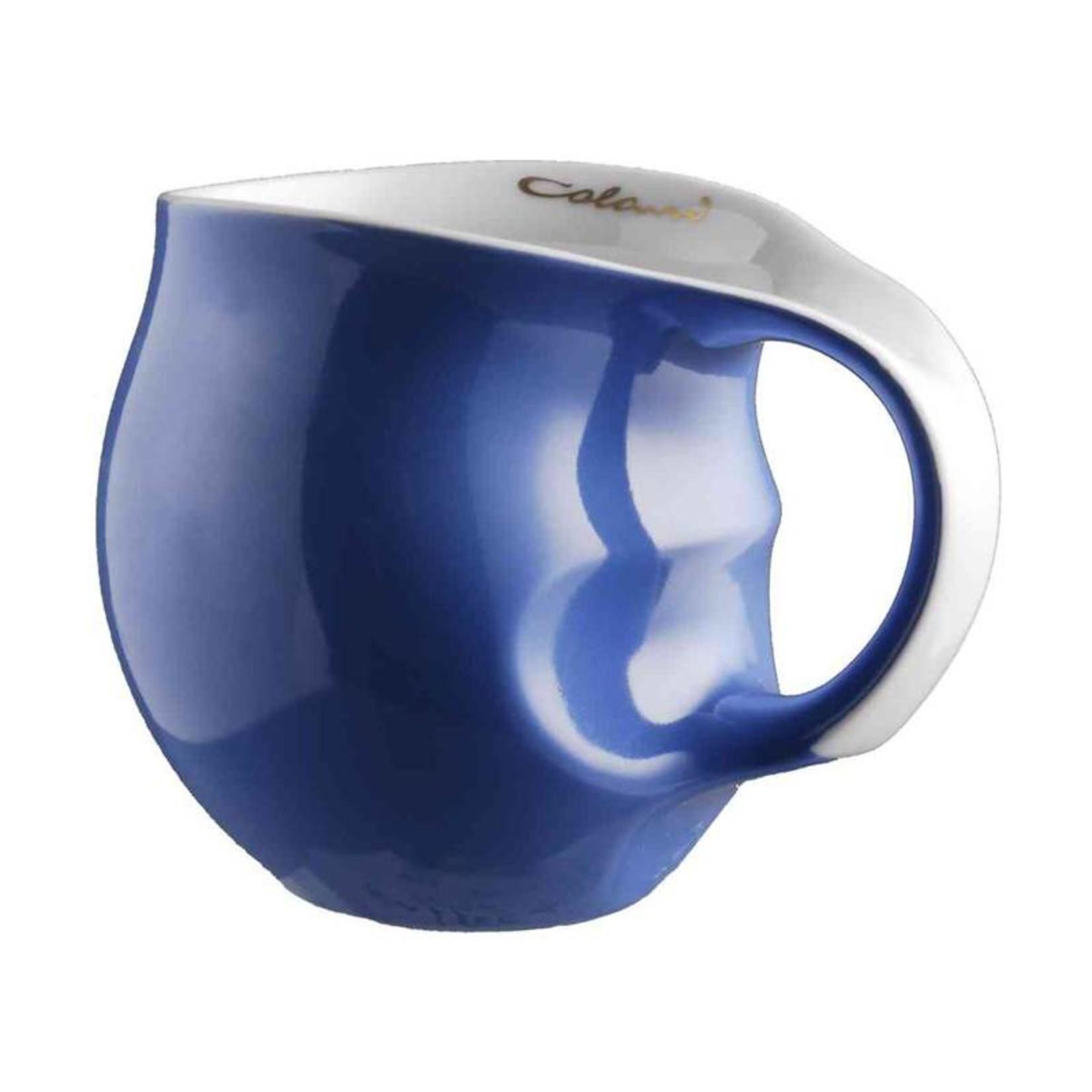 Colani Porzellanserie Luigi Colani Kaffeebecher aus Porzellan in Blau