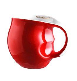 Colani Porzellanserie Colani Kaffeebecher rot